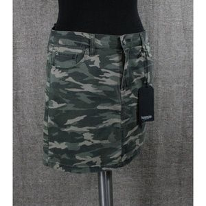 NEW! KENSIE CAMO DENIM SKIRT!